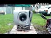 如何暴力肢解一台滚筒洗衣机
